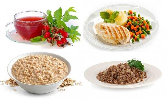разрешенные продукты при холецистите
