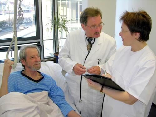 больной с врачами