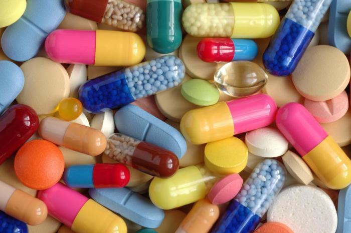 витамины и лекарственные препараты