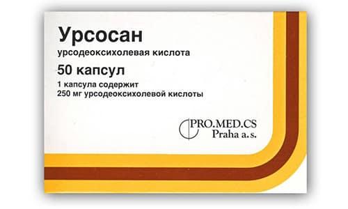 Урсосан назначают при желчекаменной болезни, гепатите различной этиологии (включая вирусный, алкогольный и аутоиммунный)